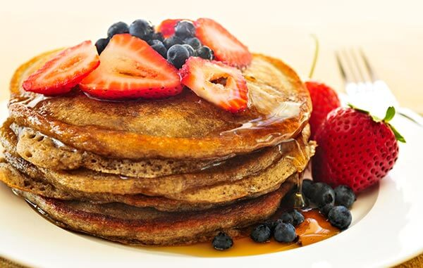 Buttermilk Buckwheat Pancakes - High Fibre Recipes
